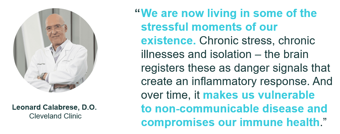How stress impacts chronic conditions