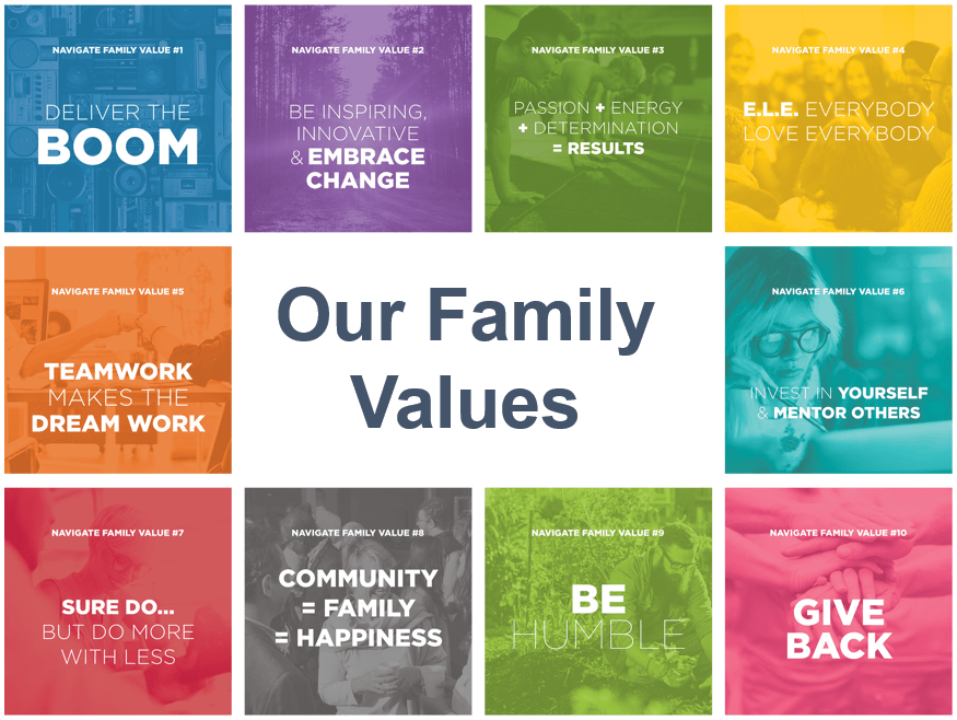 Navigate's family values
