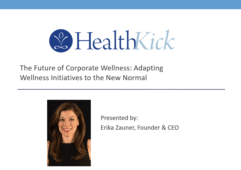 Learn about wellness trends and the future of corporate wellness