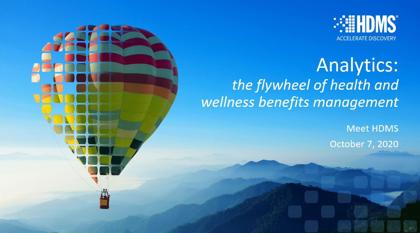 learn how integrated analytics are the flywheel of health and wellness benefits management